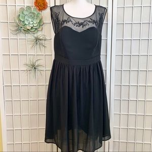 Torrid Black Lace Fit and Flare